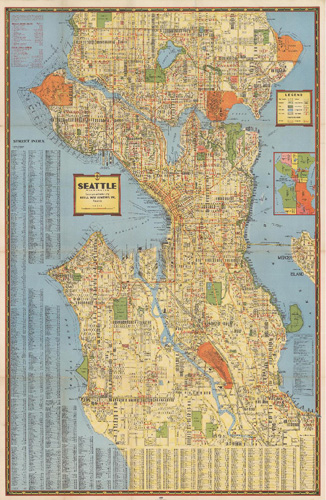 Historical Seattle Maps By Kroll